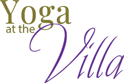 Yoga at the Villa Logo
