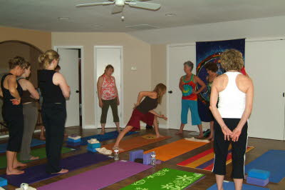 Yoga at the Villa Class